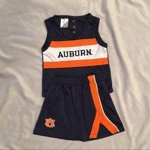 Auburn Toddler Girls Cheerleader Outfit